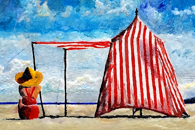 On My Beach - detail