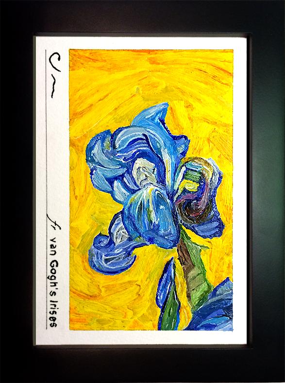 fr van Gogh's Irises