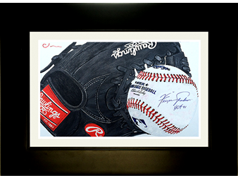ball and glove (signed)