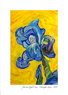 from van Gogh's Irises
