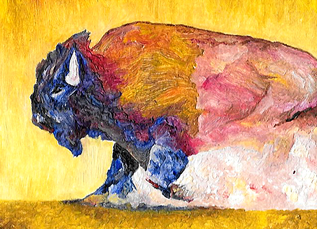 bison - detail