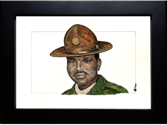 Sgt Harold N Woodard