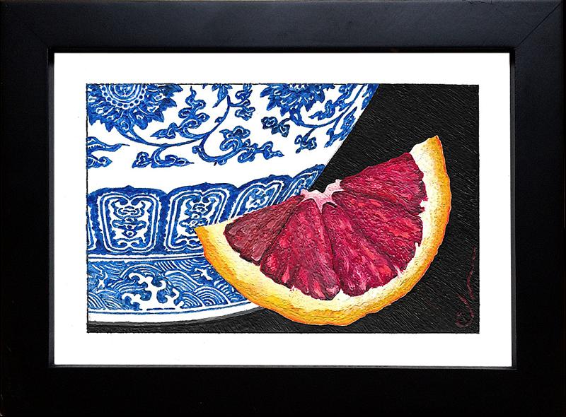 Ming Vase and Blood Orange