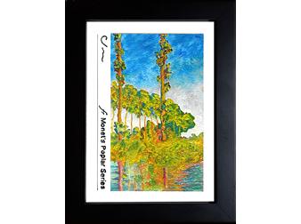 from Monet's Poplar Series