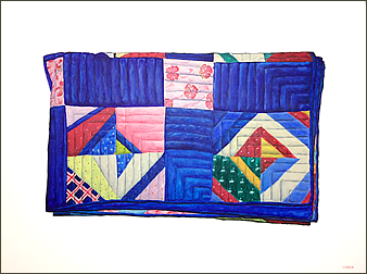Grandmother's Quilt Folded