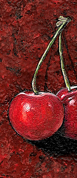 2 Cherries - business card