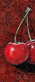 2 Cherries - business card