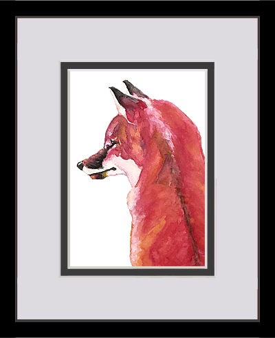 vixen framed and matted